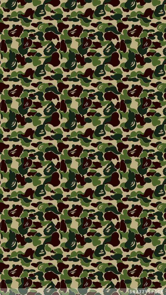 Army Bape iPhone Wallpaper is very easy Just click download wallpaper 640x1136