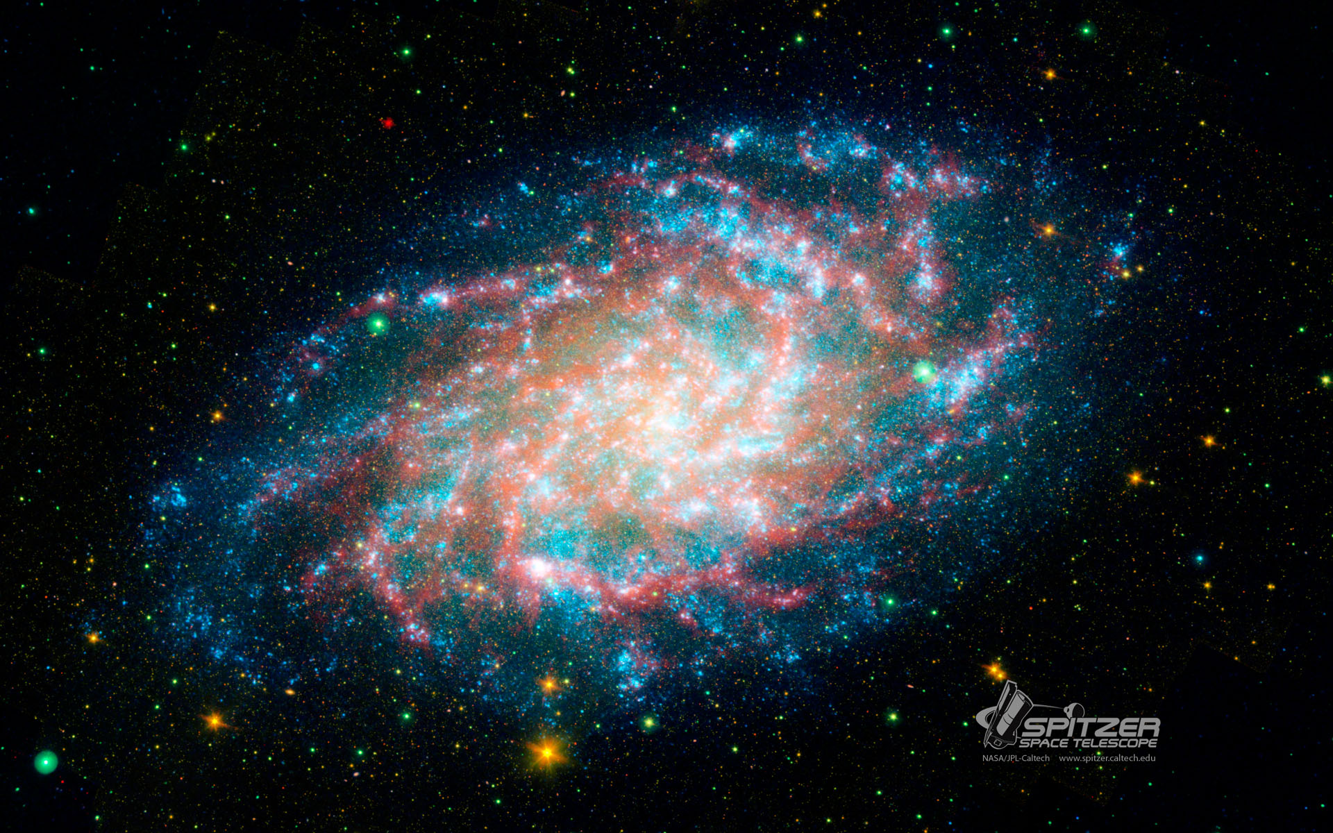 50 nasa wallpaper images on wallpapersafari - Spitzer space telescope wallpaper ...