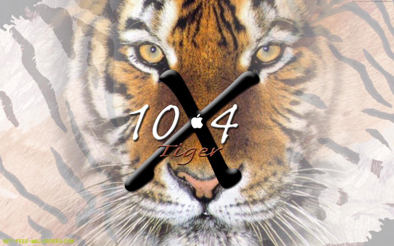 Apple Tiger Wallpaper Tiger osx hq wallpaper preview 1440x900