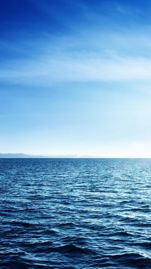 640x1136 Deep Blue Ocean Waves Iphone 5 wallpaper 640x1136