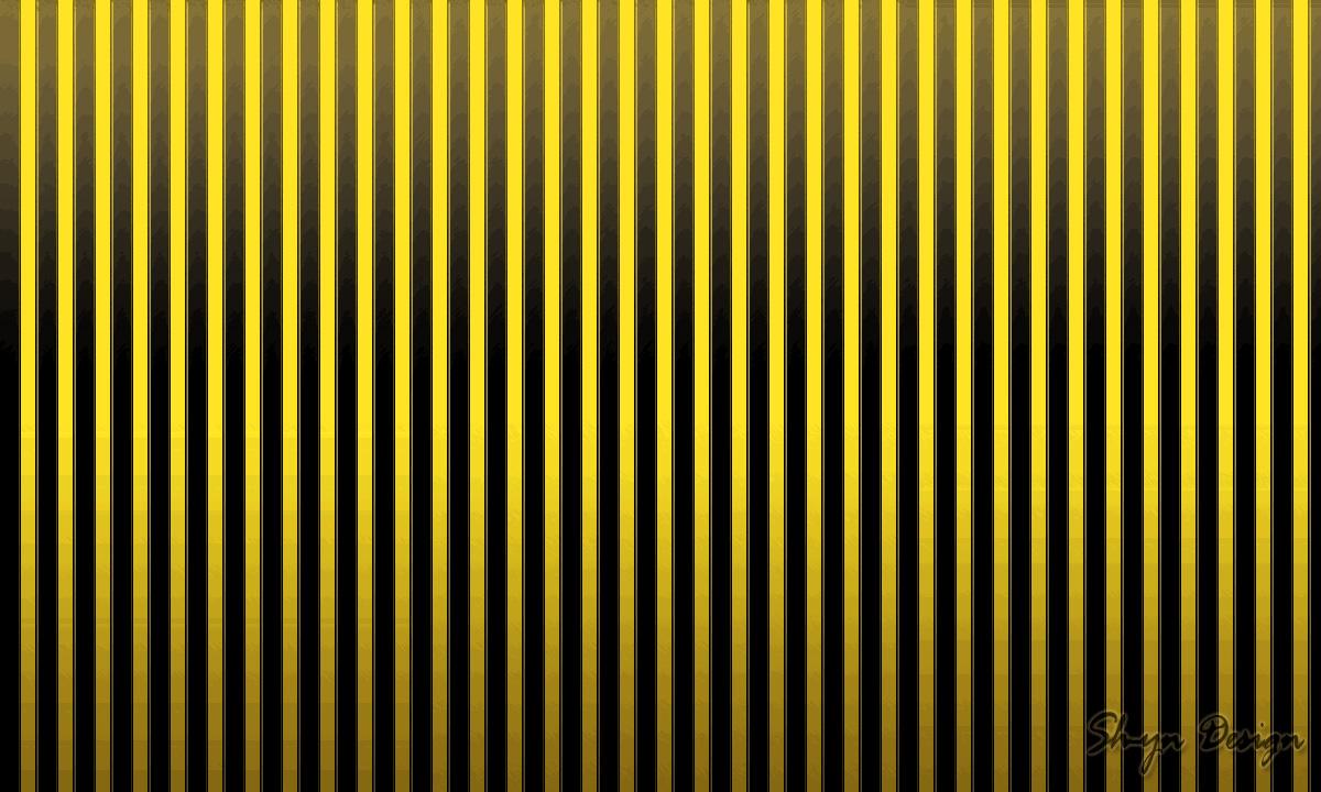 Sh Yn Design Stripe Pattern Wallpaper   Yellow Black 1200x720