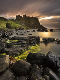 Castle Northern Ireland Wallpaper 240x320