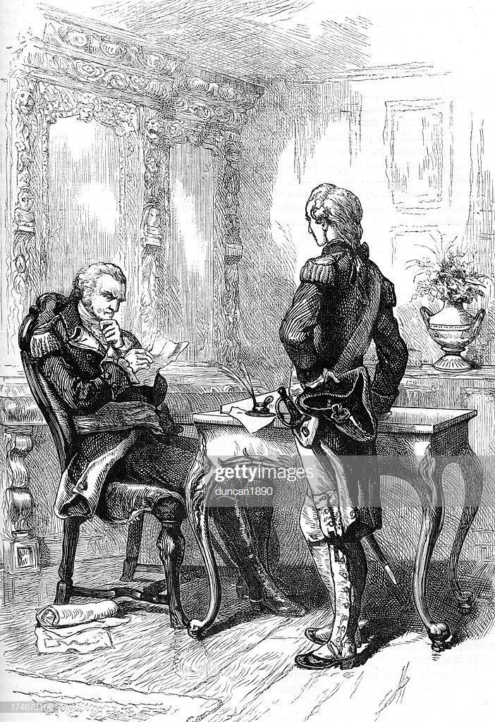 George Washington And Gilbert Du Motier The Marquis De Lafayette 702x1024