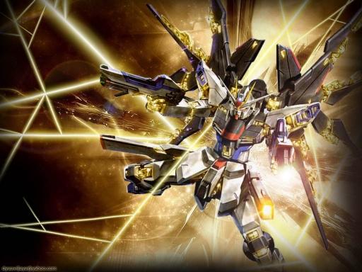 Gundam Freedom by Dyuu 512x384