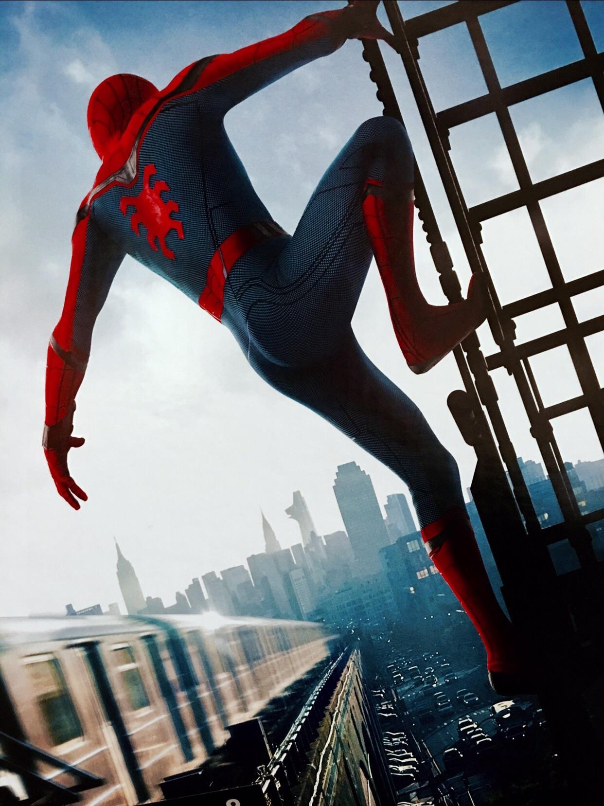 If anyone wants a Spider Man Homecoming phone wallpaper heres 1242x1657