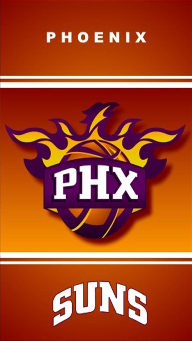 Phoenix Suns LOGO iPhone Wallpapers iPhone 5s4s3G Wallpapers 640x1136
