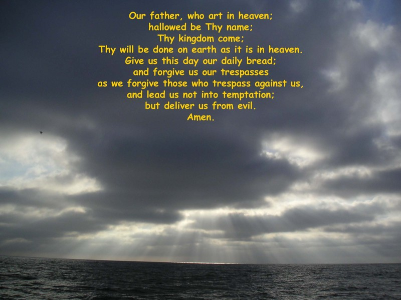 the lords prayer iphone - photo #36