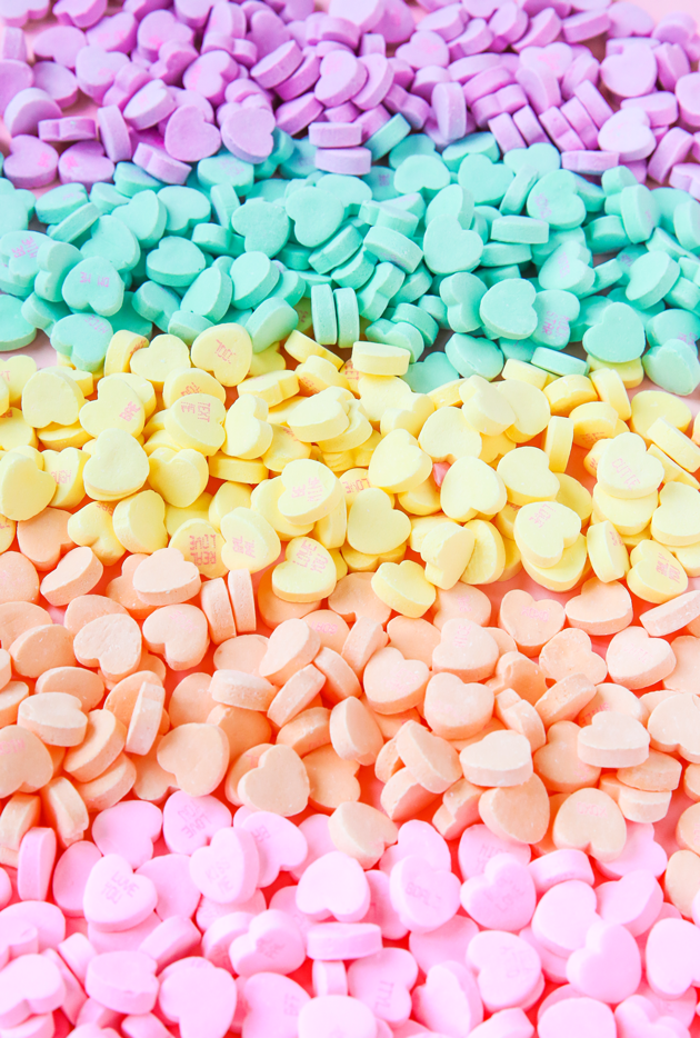 Candy Heart Phone Wallpaper Download   The Crafted Life 630x934