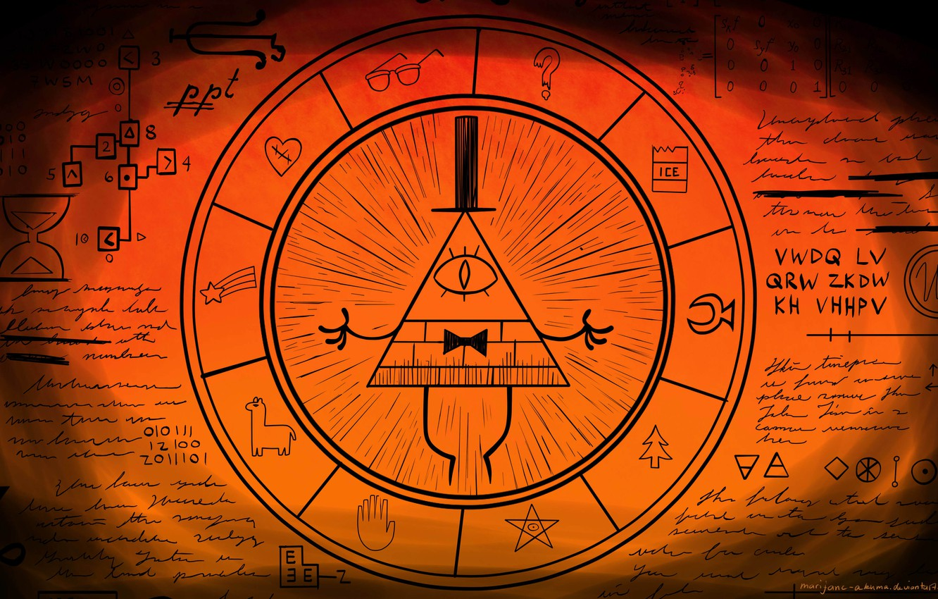 Wallpaper Gravity Falls Bill Cipher Gravity Falls Bill Cipher 1332x850