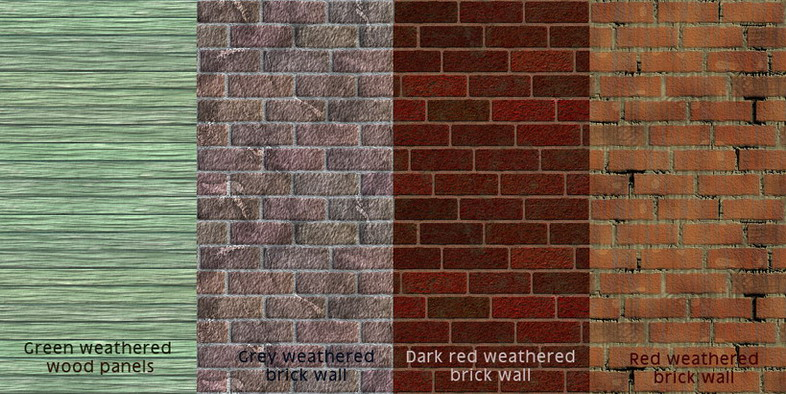 Mod The Sims   Weathered walls   for realistic used looking walls 786x394