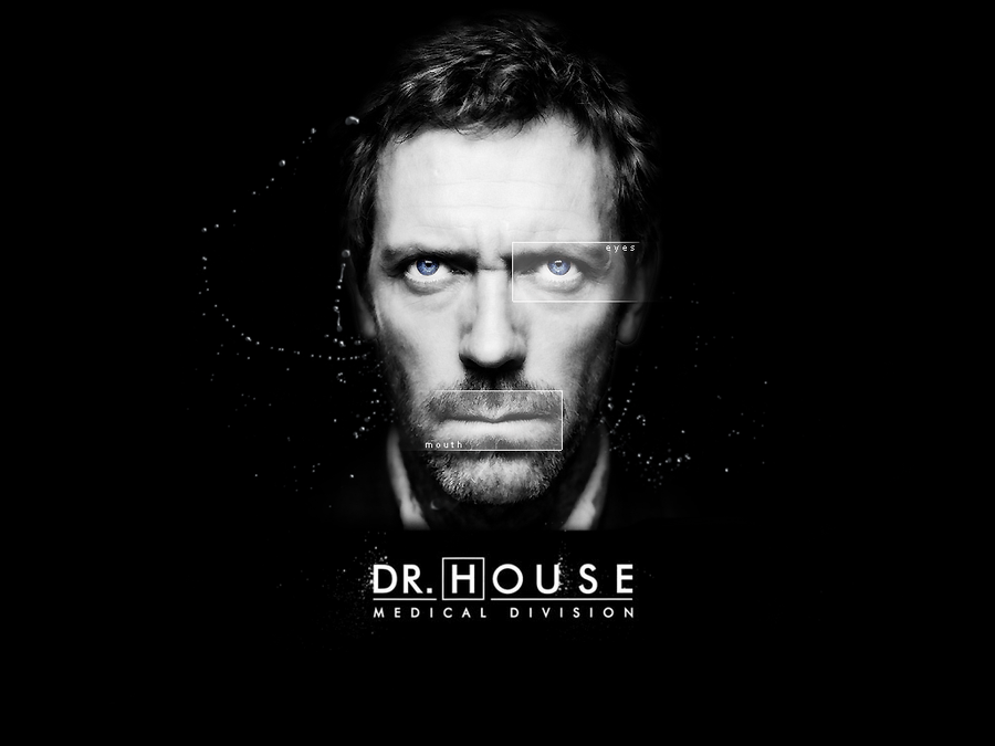 WALLPAPER Dr House by M1ch3l3 900x675