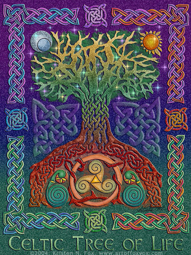 Celtic Tree of Life Wallpaper - WallpaperSafari