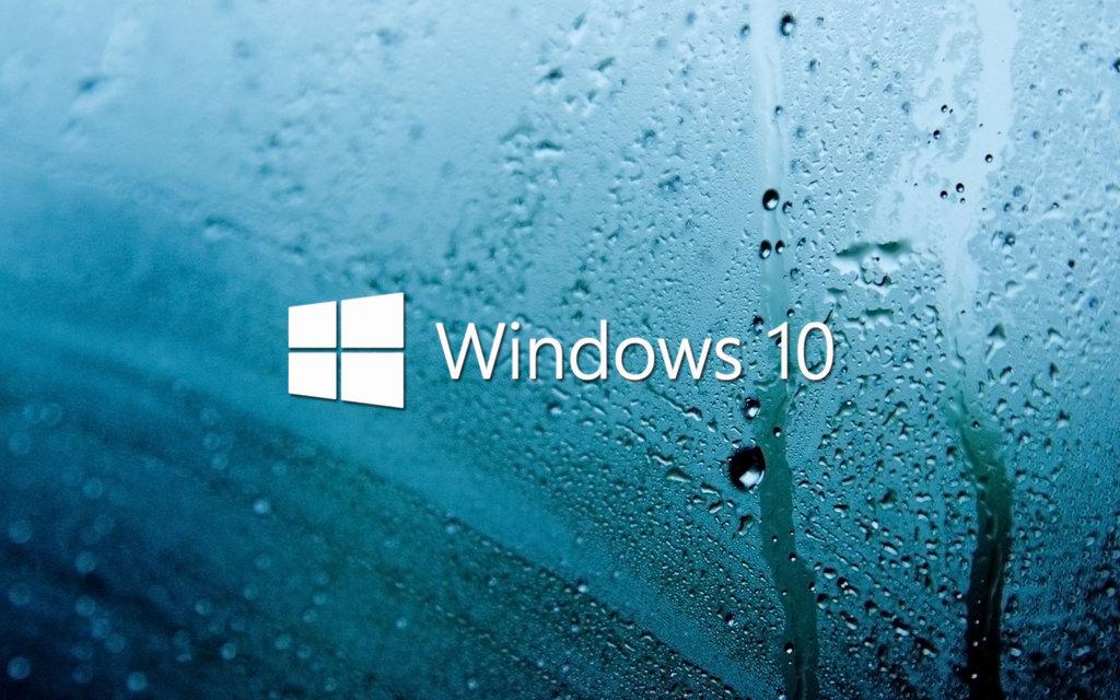 Rainy Day Windows 10 Wallpaper 1024x640