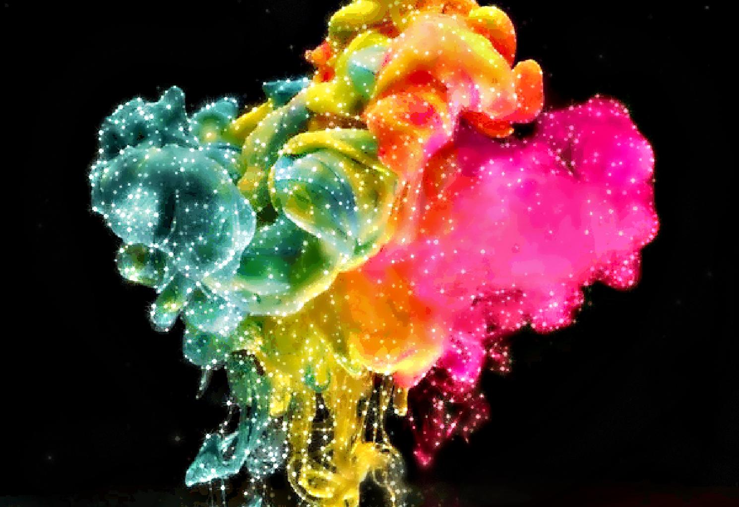 Color Explosion Wallpaper - WallpaperSafari