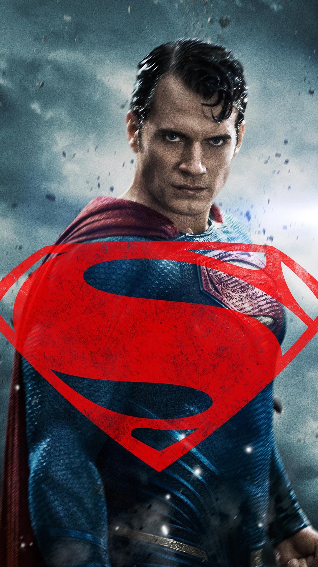 Batman vs Superman Henry Cavill Android Wallpaper download 1080x1920