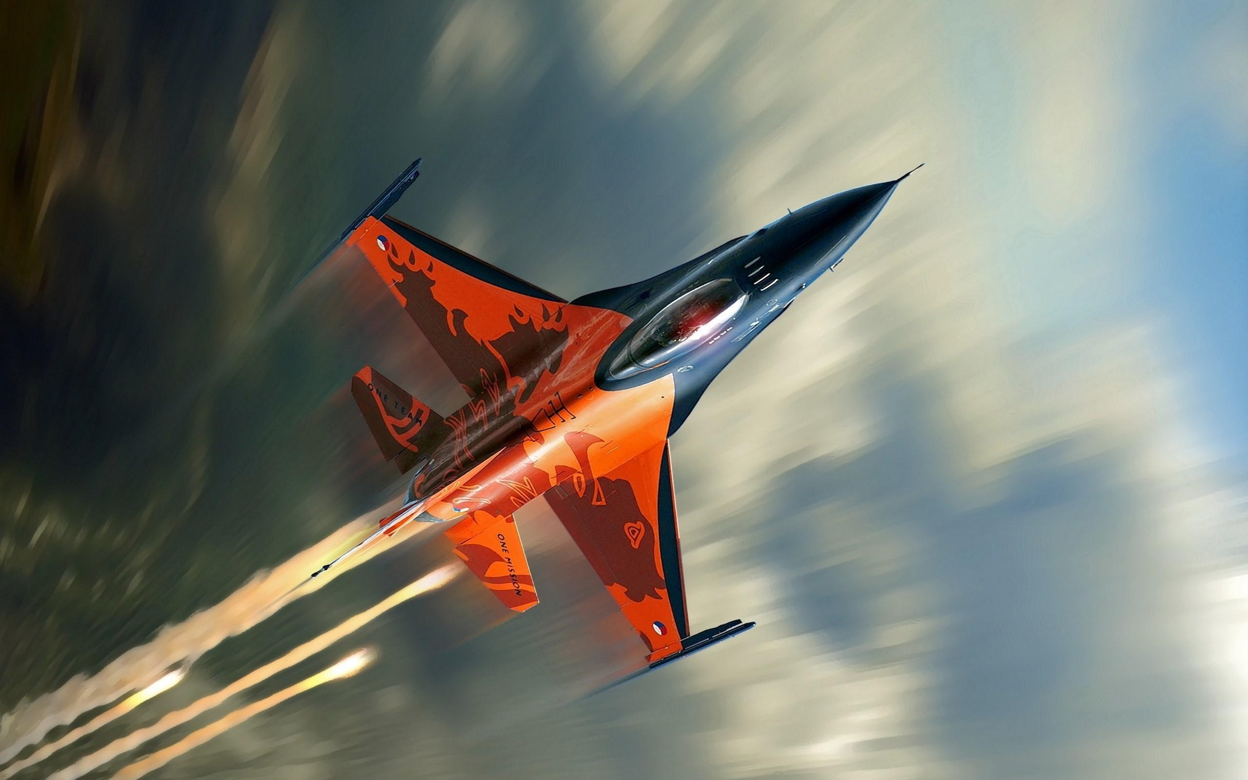 16 Fighting Falcon Fighter Aircraft Wallpapers HD Wallpapers 2560x1600