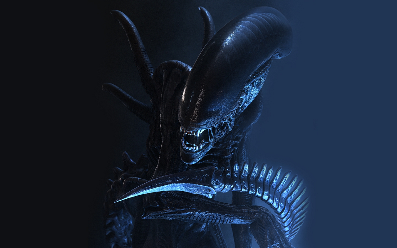 Download Aliens Xenomorph Wallpaper 1280x800 Wallpoper 1280x800