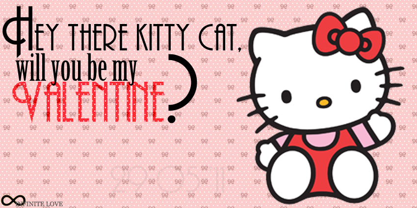 Valentine Card Hello Kitty by this4u 850x425
