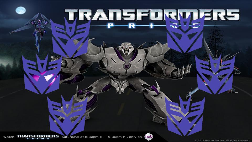 Transformers Prime Decepticon PS Vita Wallpaper by Feenixfire90 on 960x544