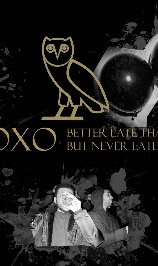Drake OVOXO The Weeknd Rap Wallpapers 640x1080