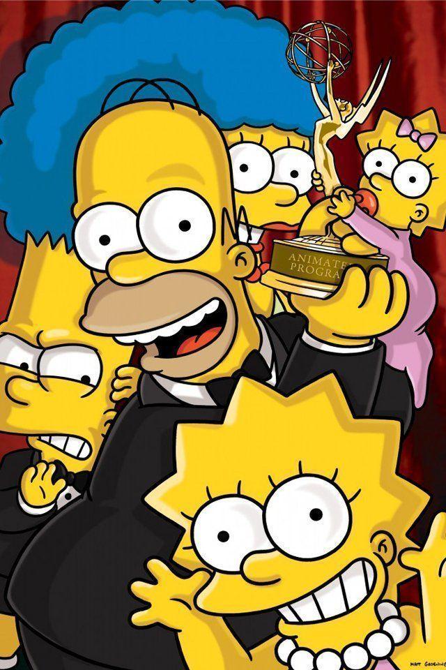 Papis de parede para celular dos Simpsons 640x960