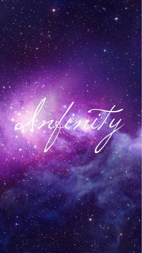 Girly Infinity Wallpaper