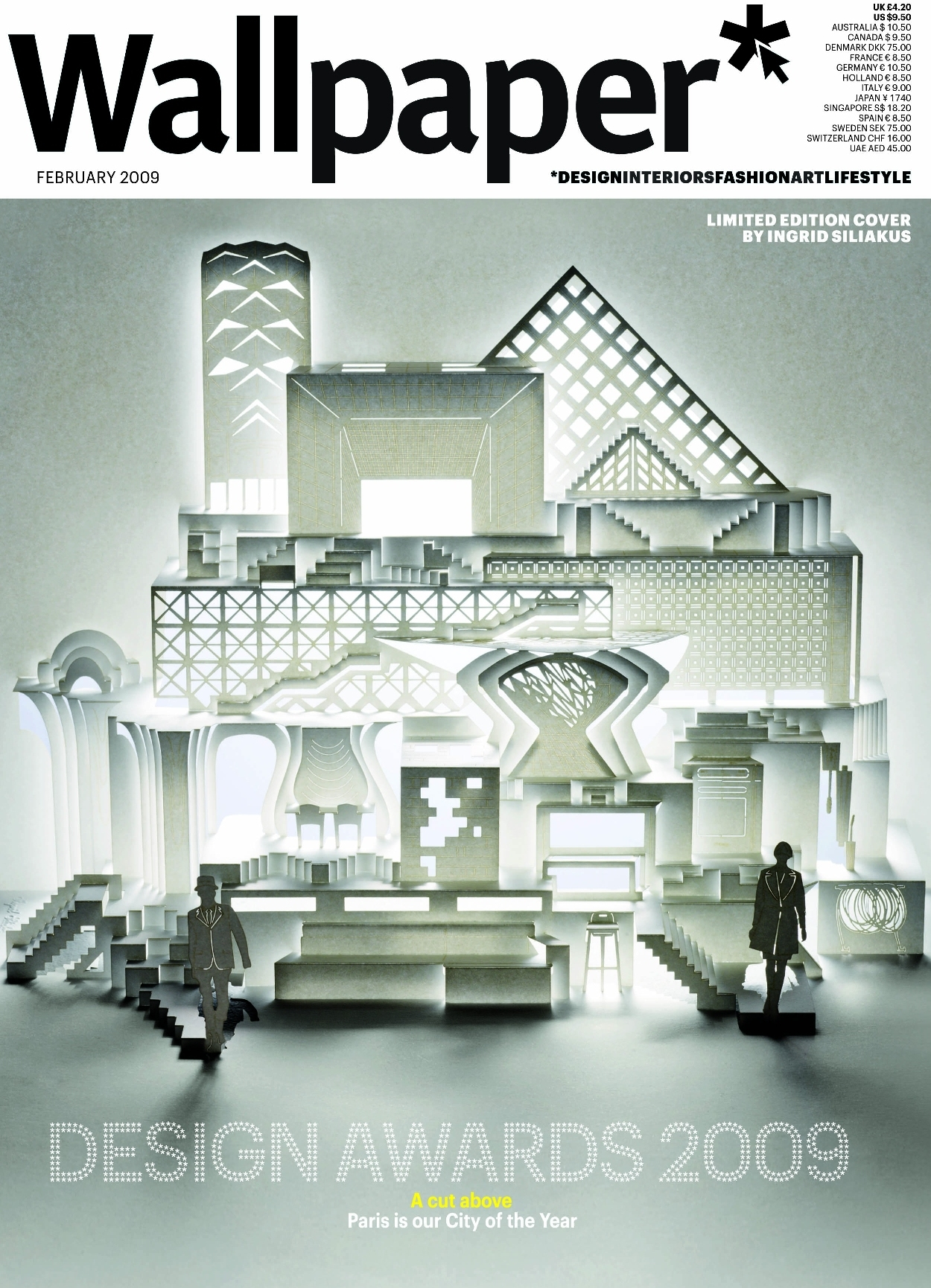 Wallpaper is a magazine focused on many topics art architecture 1250x1730