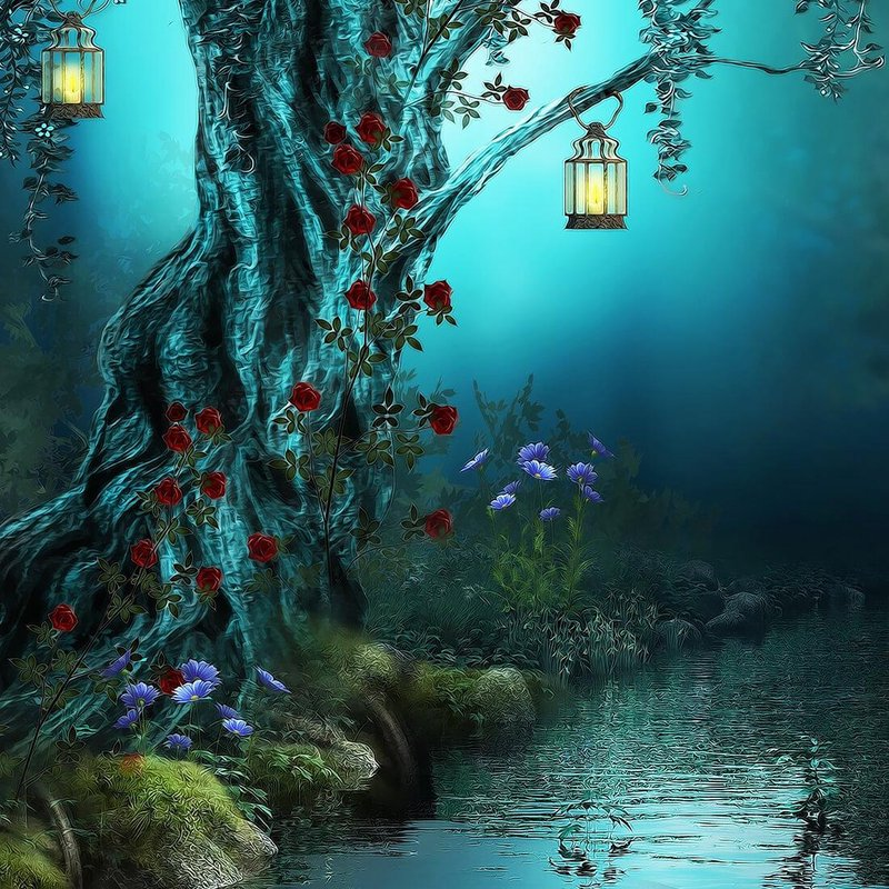 Fairy Tale Live Wallpaper APK Download 800x800