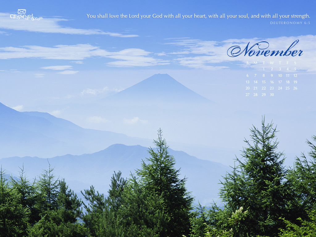 50 crosscards wallpaper monthly calendars on - Crosscards christian wallpaper ...