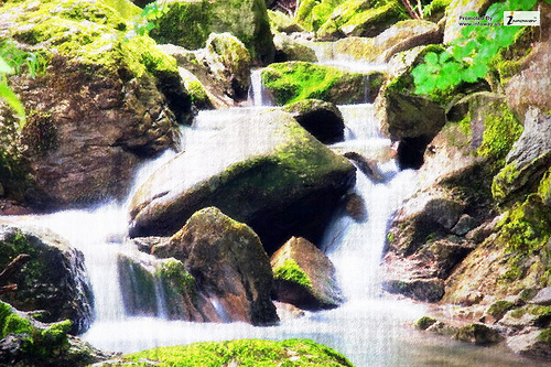 Exotic Waterfall Wallpaper: Tropical Waterfalls Wallpaper