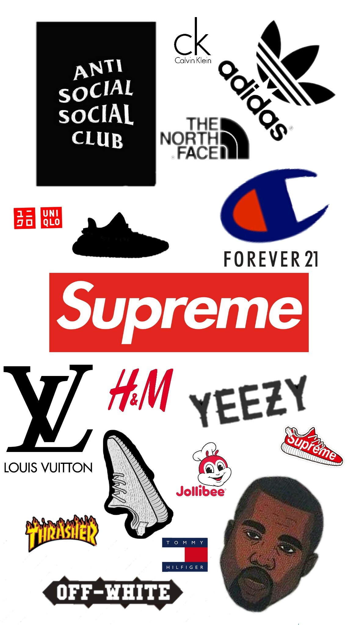 Hypebeast Wallpaper Collage 1166x2048