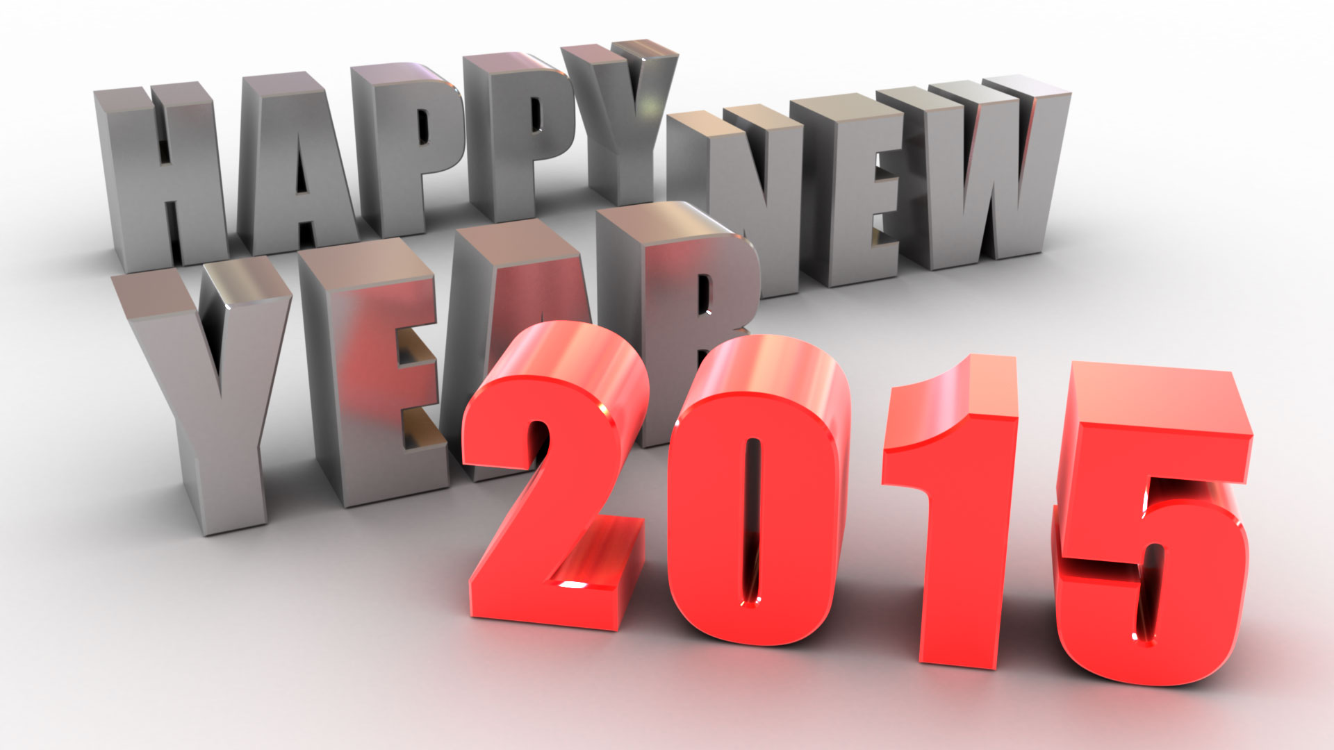 Happy new year 2015 3d wallpaper 1920x1080