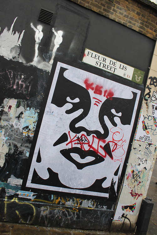 obey art on Tumblr 500x750
