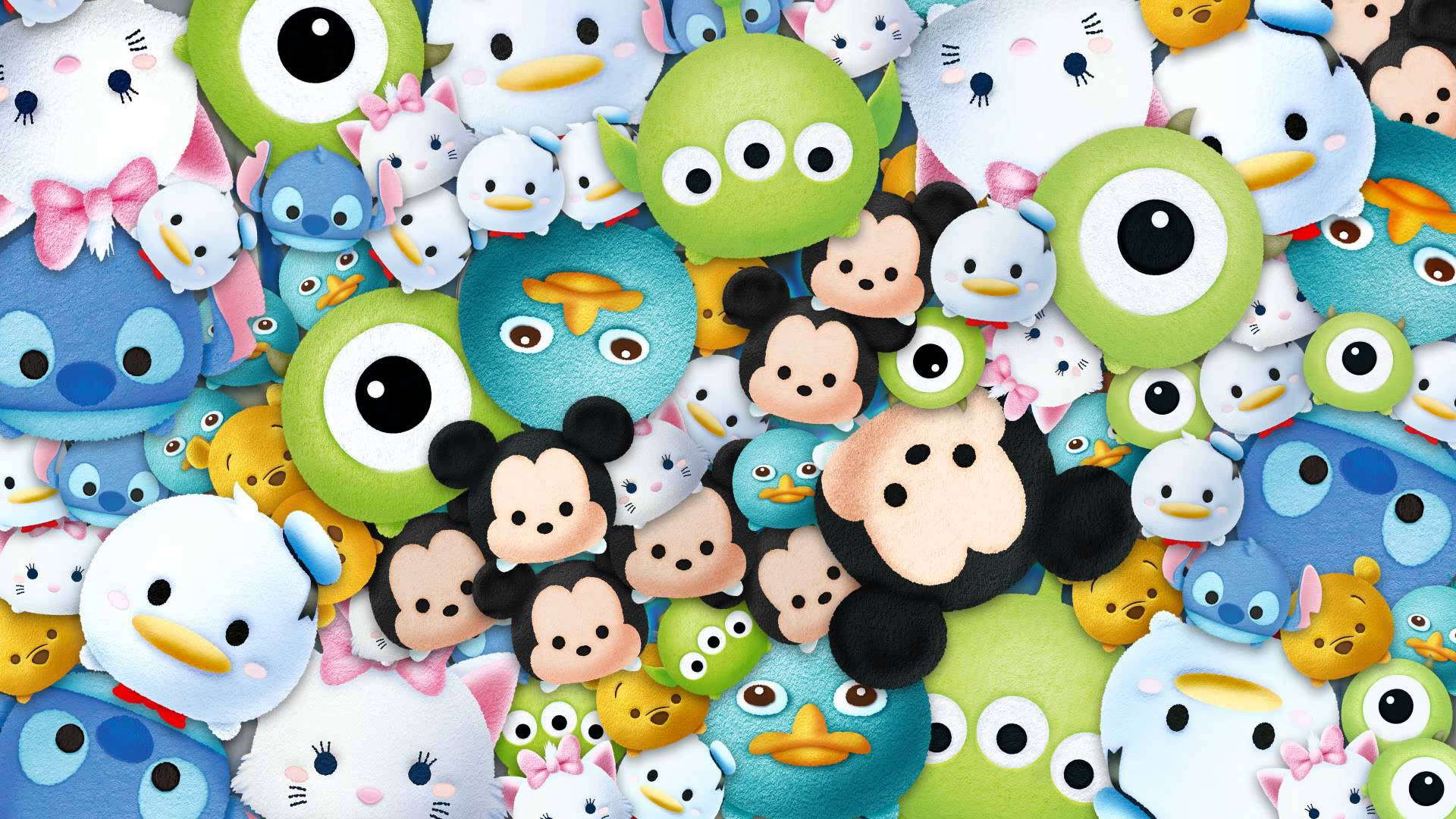 Wallpaper Hp Disney Tsum Tsum