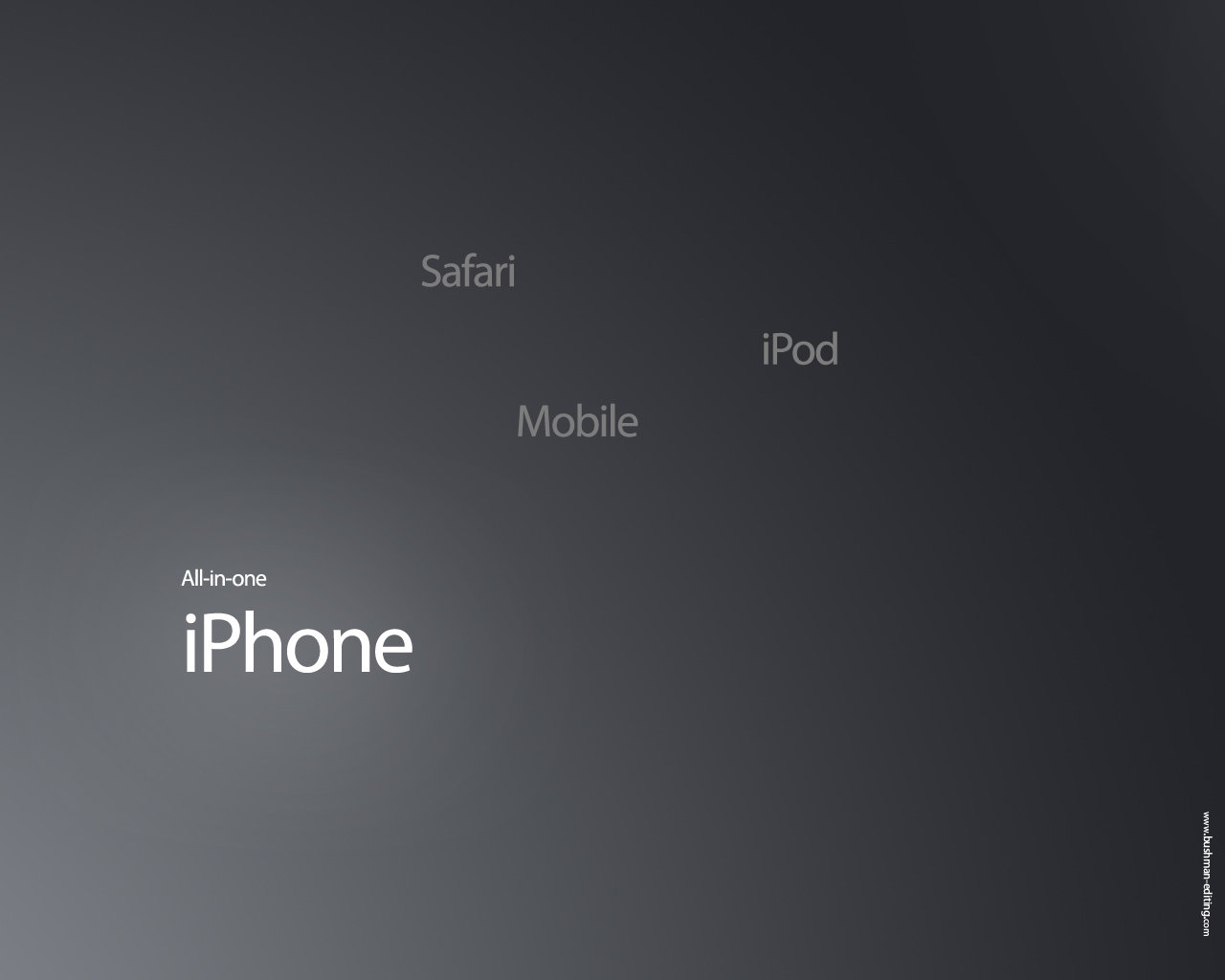 All In One iPhone Wallpaper by mr iphone 1280x1024