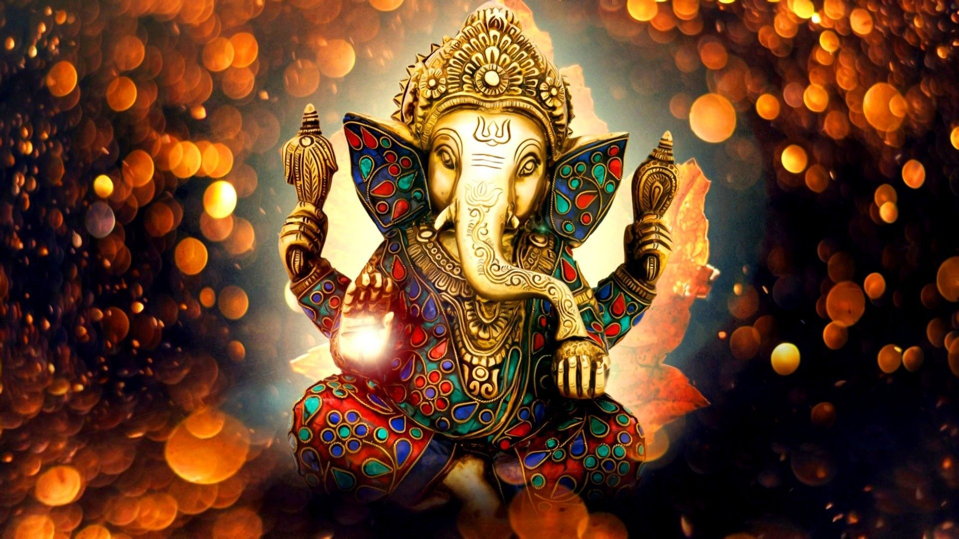 Pictures of Lord Ganesha Wallpapers 1920x1080 for android 1920x1080