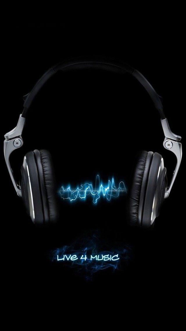 Live breath love music Music Iphone wallpaper music Music 640x1136