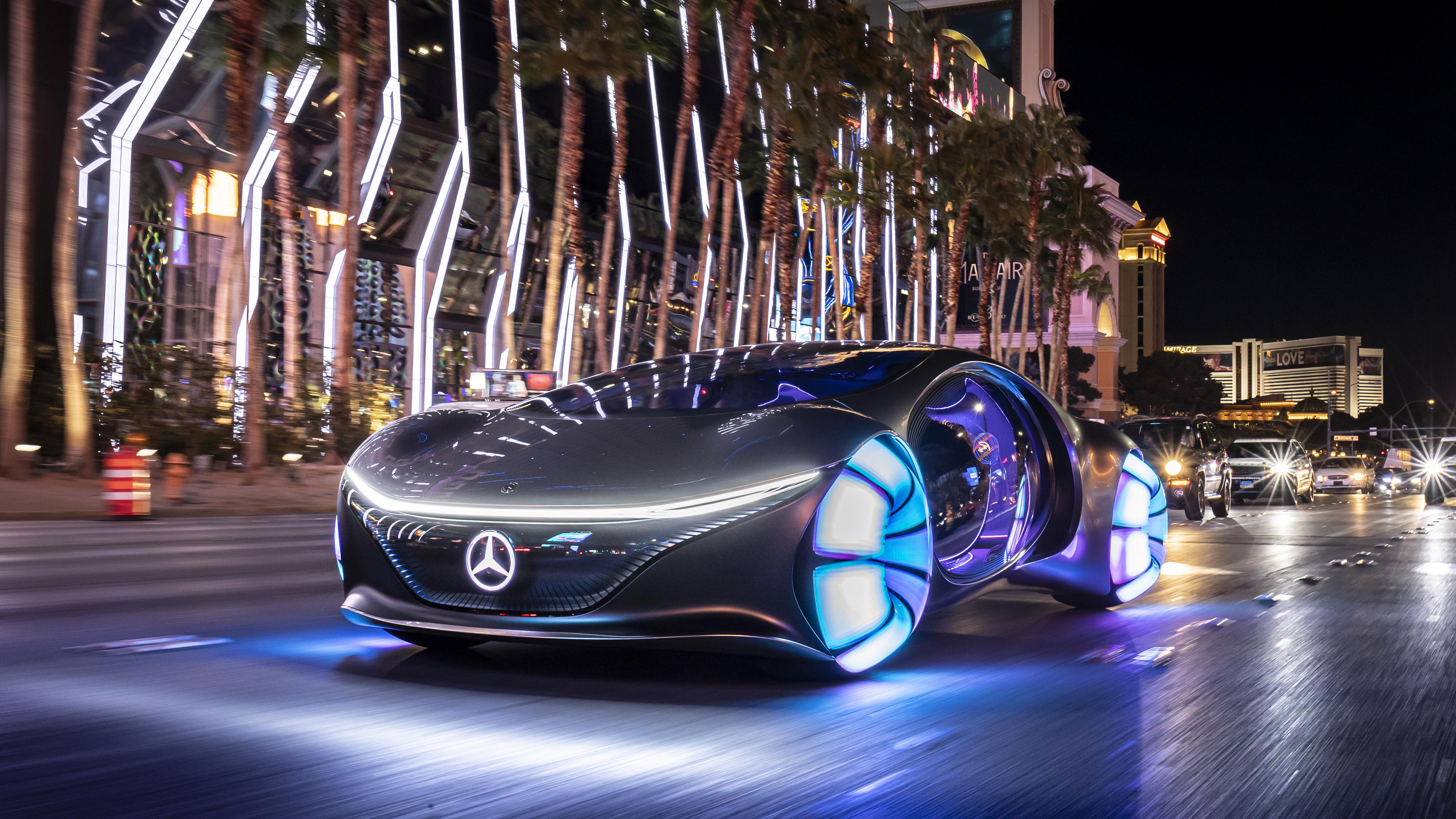 2020 Mercedes Benz VISION AVTR 5K 5 Wallpaper HD Car Wallpapers 5120x2880