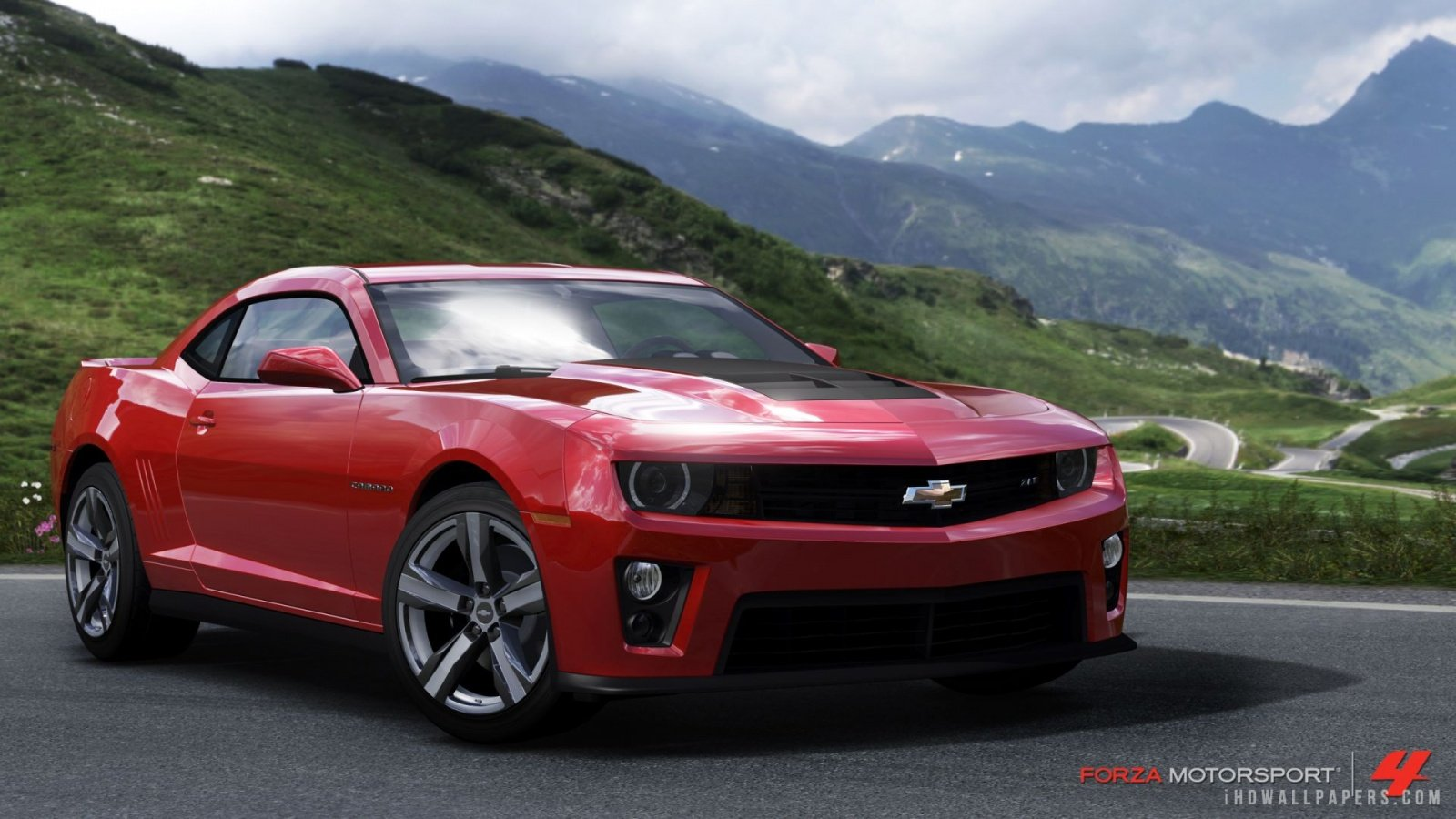 Chevrolet Camaro ZL1 in Forza Horizon HD Wallpaper   iHD Wallpapers 1600x900