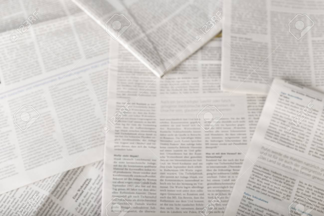 Newspaper Background Top View Stock Photo Picture And Royalty 1300x866