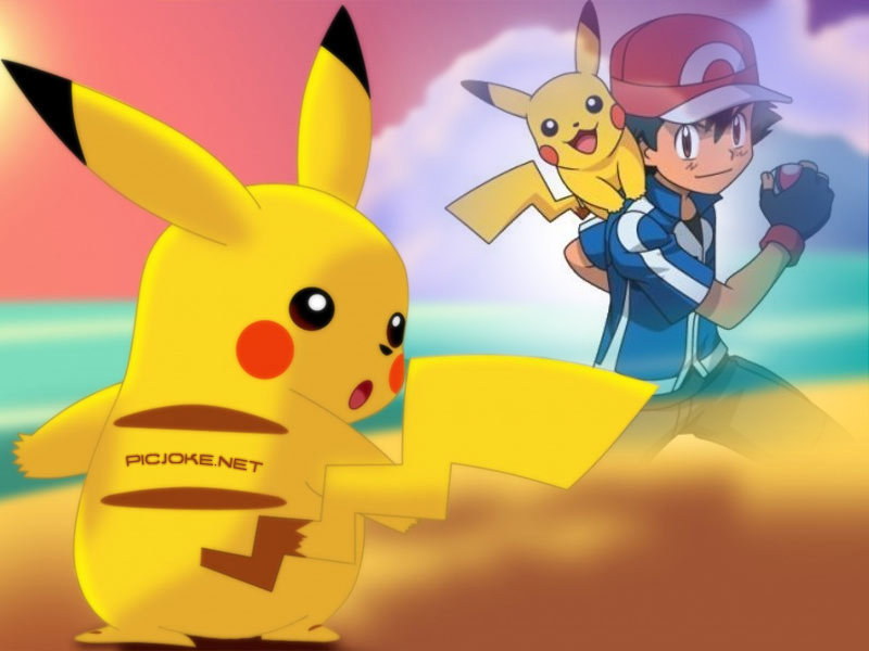 Ash and Pikachu Wallpaper 6 by weissdrum 800x600