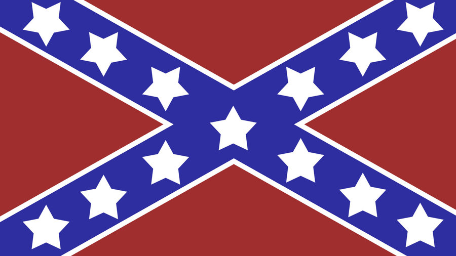Confederate flag wallpaper 1 by Tiquitoc 900x506