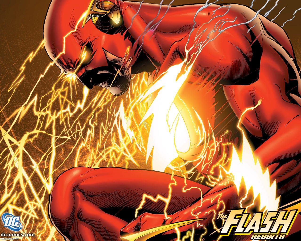 DC Comics Flash the Rebirth 1280x1024