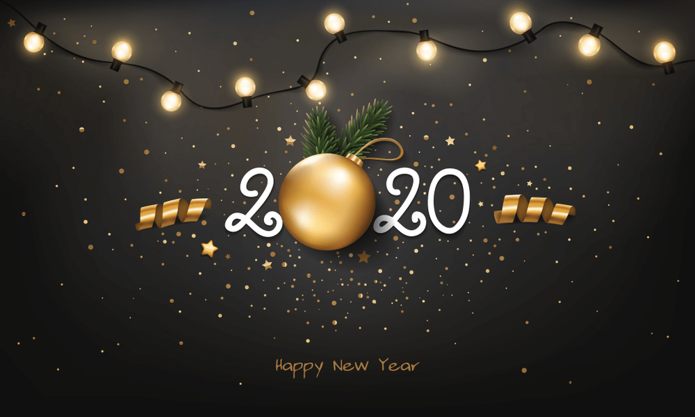 500 Best Happy New Year 2020 Wallpaper Background Images Ideas 1000x600