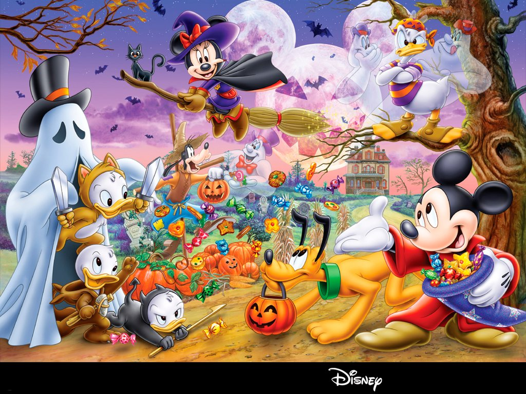 Disney Halloween Wallpapers for girls 2013 Halloween 1024x768