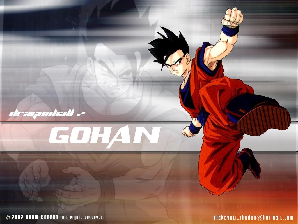 Wallpapers de GOHAN   Taringa 1024x768