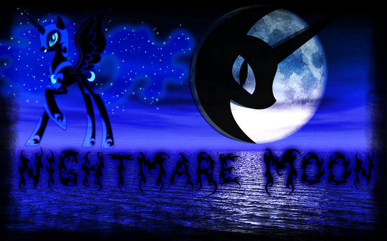 Nightmare Moon Wallpaper by NaziZombiesKiller on deviantART 1280x800