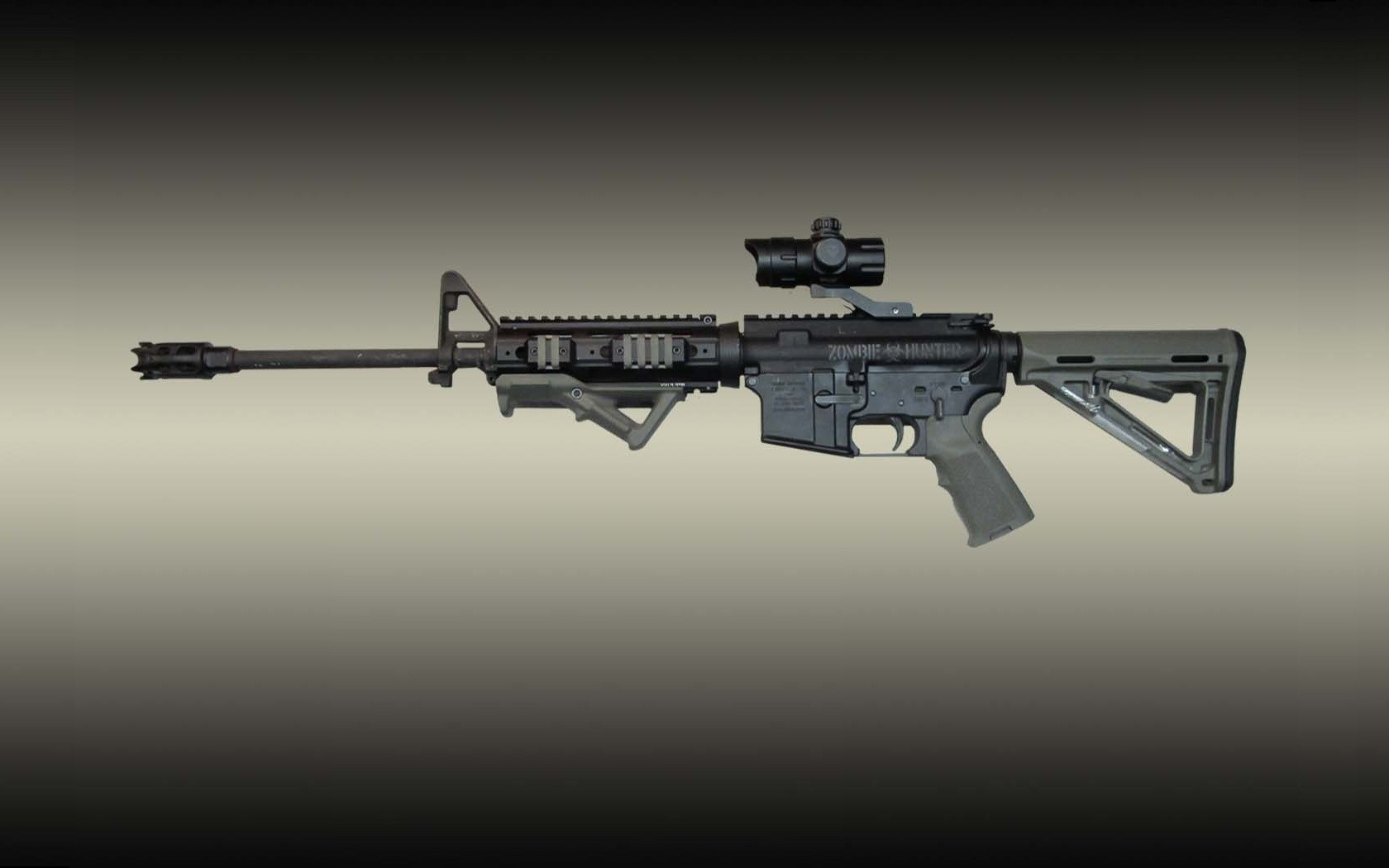 Ar15 Wallpaper 1920x1080 Rifle guns wallpaper 1680x1050