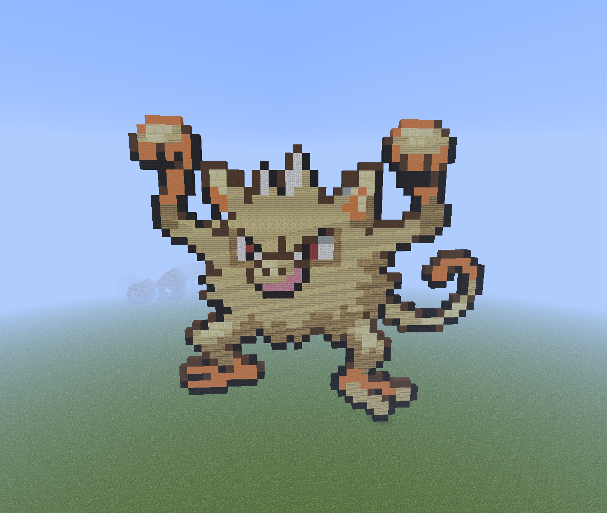 Download Minecraft Pixel Art Images Mankey Hd Wallpaper And