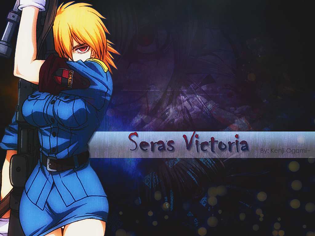 Seras Victoria   Wallpaper by AndreOgami5 1024x768